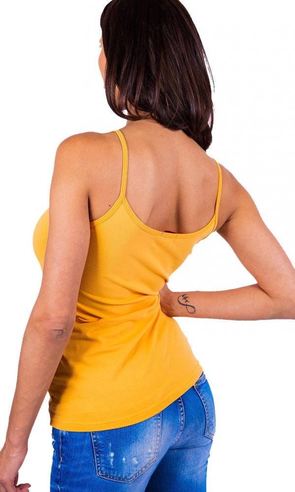 Дамски корсаж с тънка презрамка