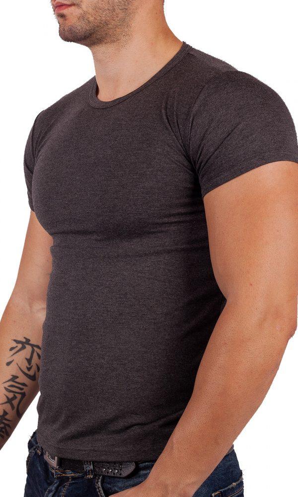 Класическа мъжка тениска къс ръкав