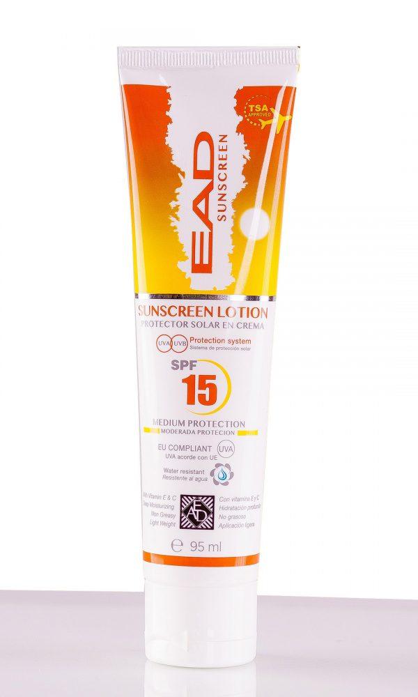 Слънцезащитен лосион 95 ml.
