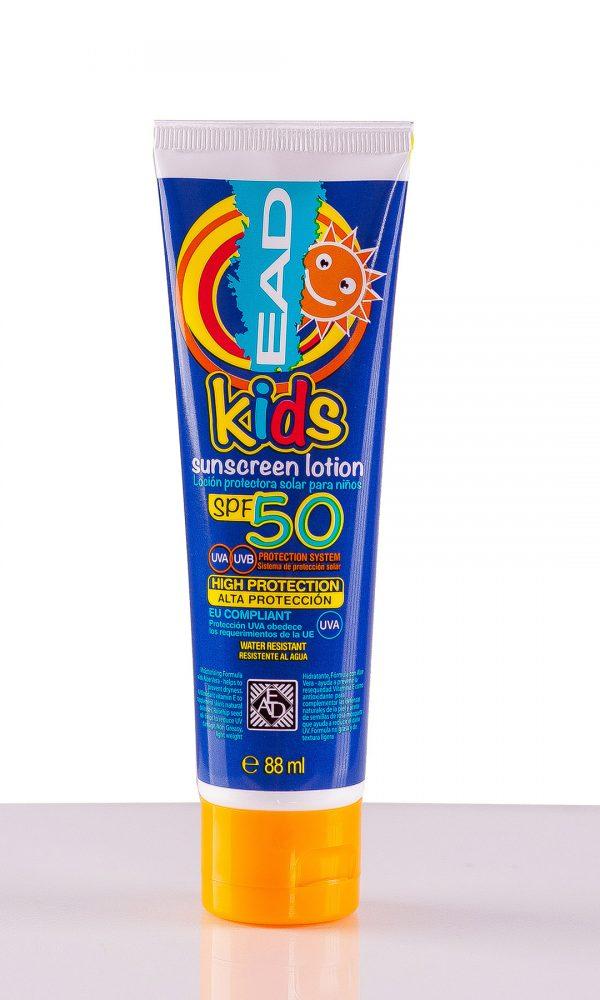 Слънцезащитен лосион за деца