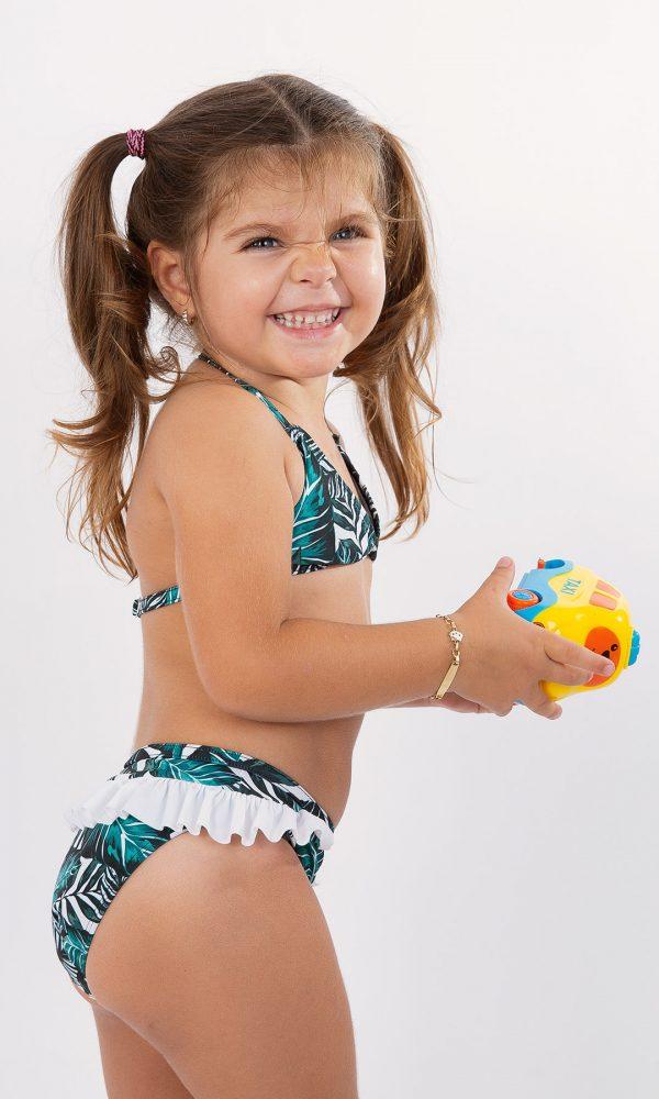 Детски бански триъгълник – зелено