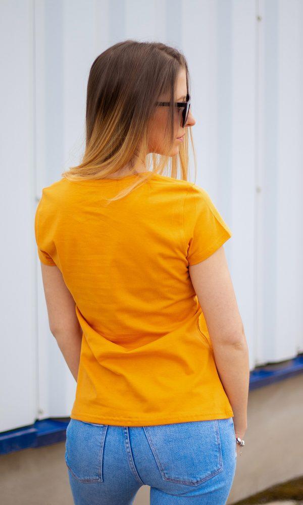 Дамска тениска 100% пениран памук
