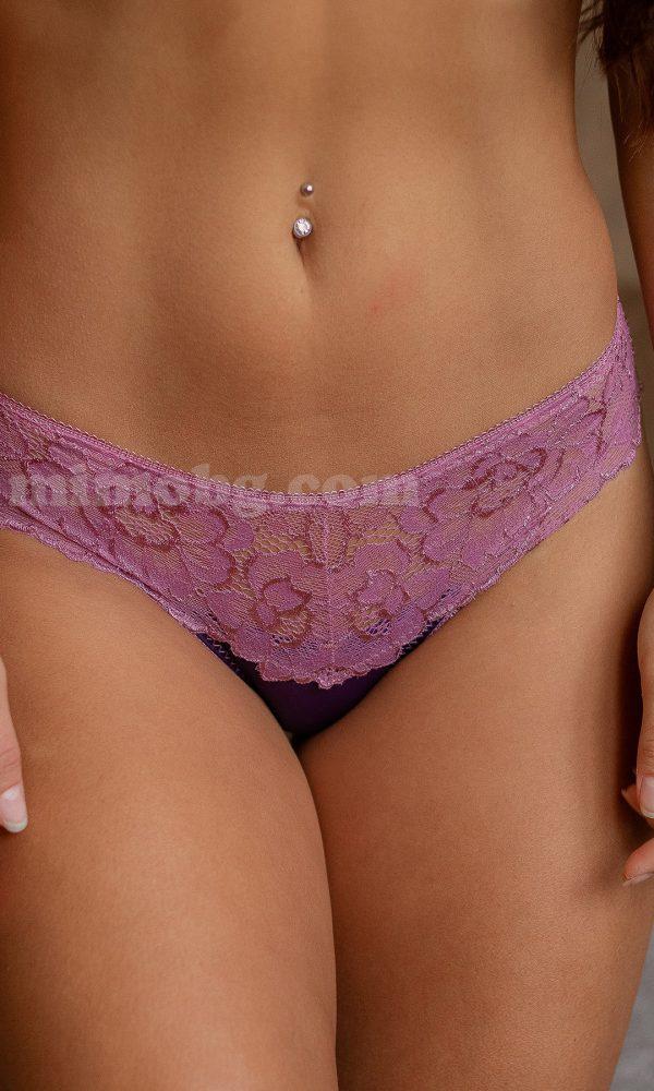 Сет 3бр полу-бразилияна – Dark purple